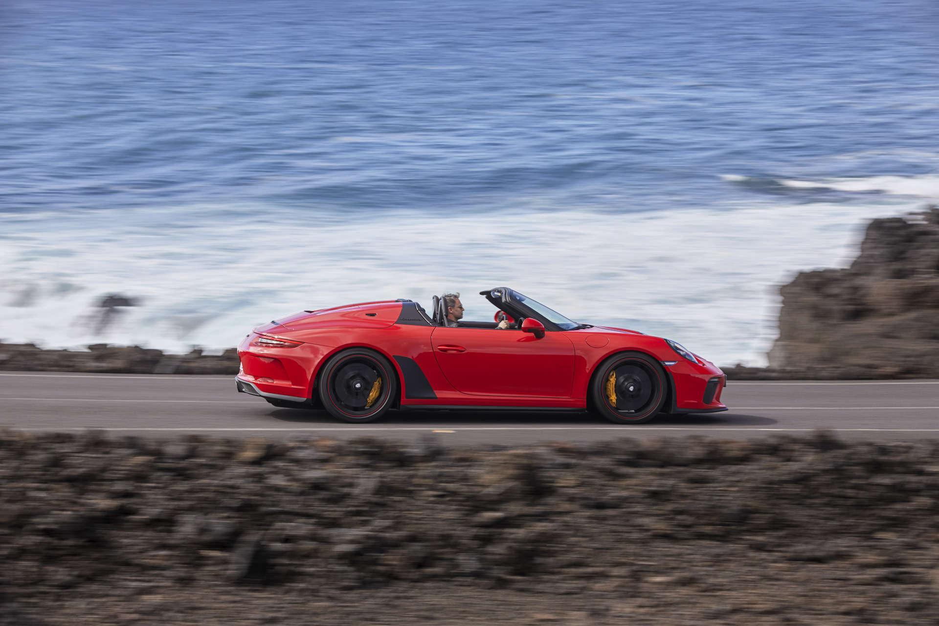 911 Speedster Seitenansicht