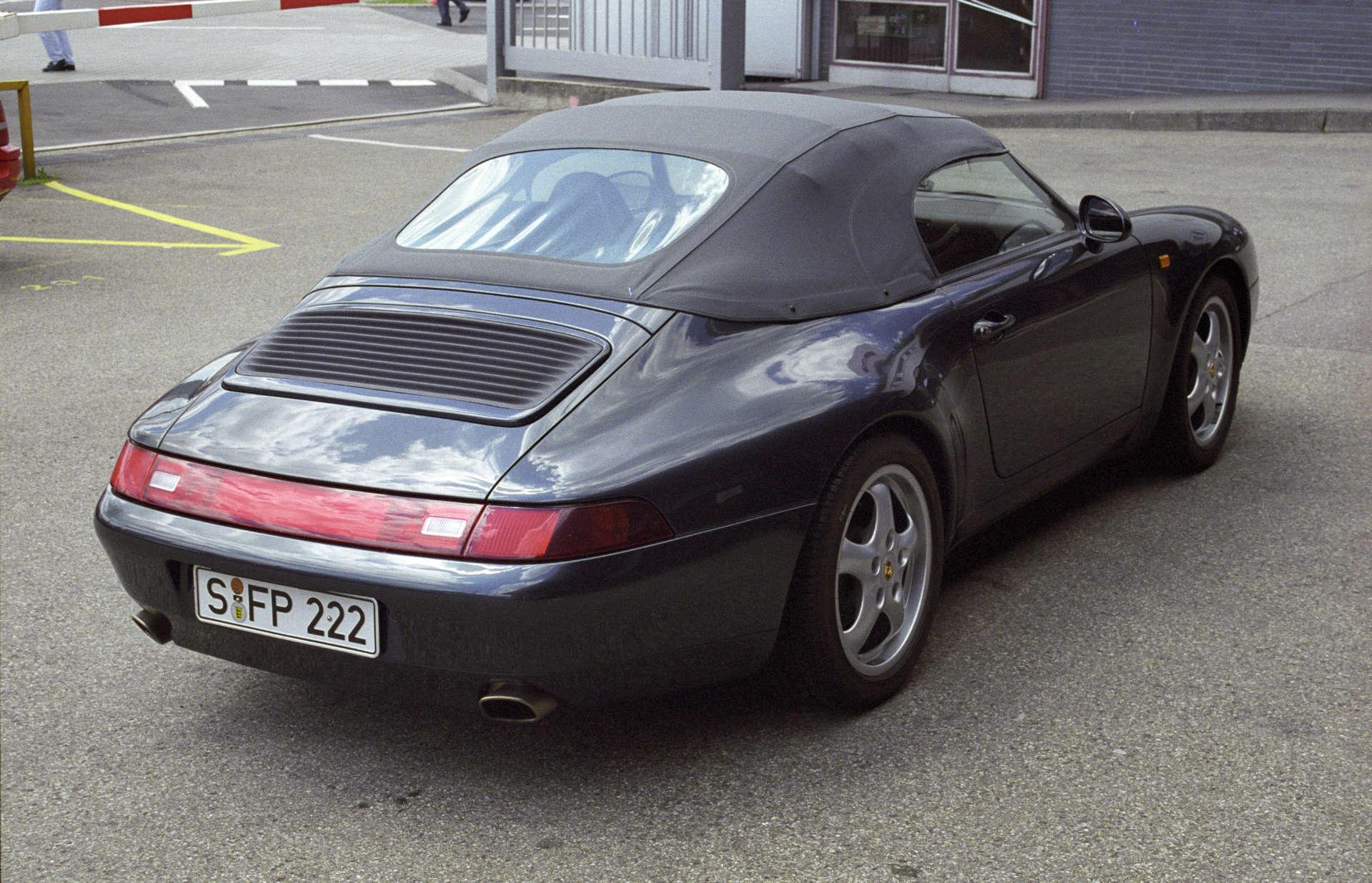 Porsche 911 Carrera 3,6 Speedster von F.A. Porsche