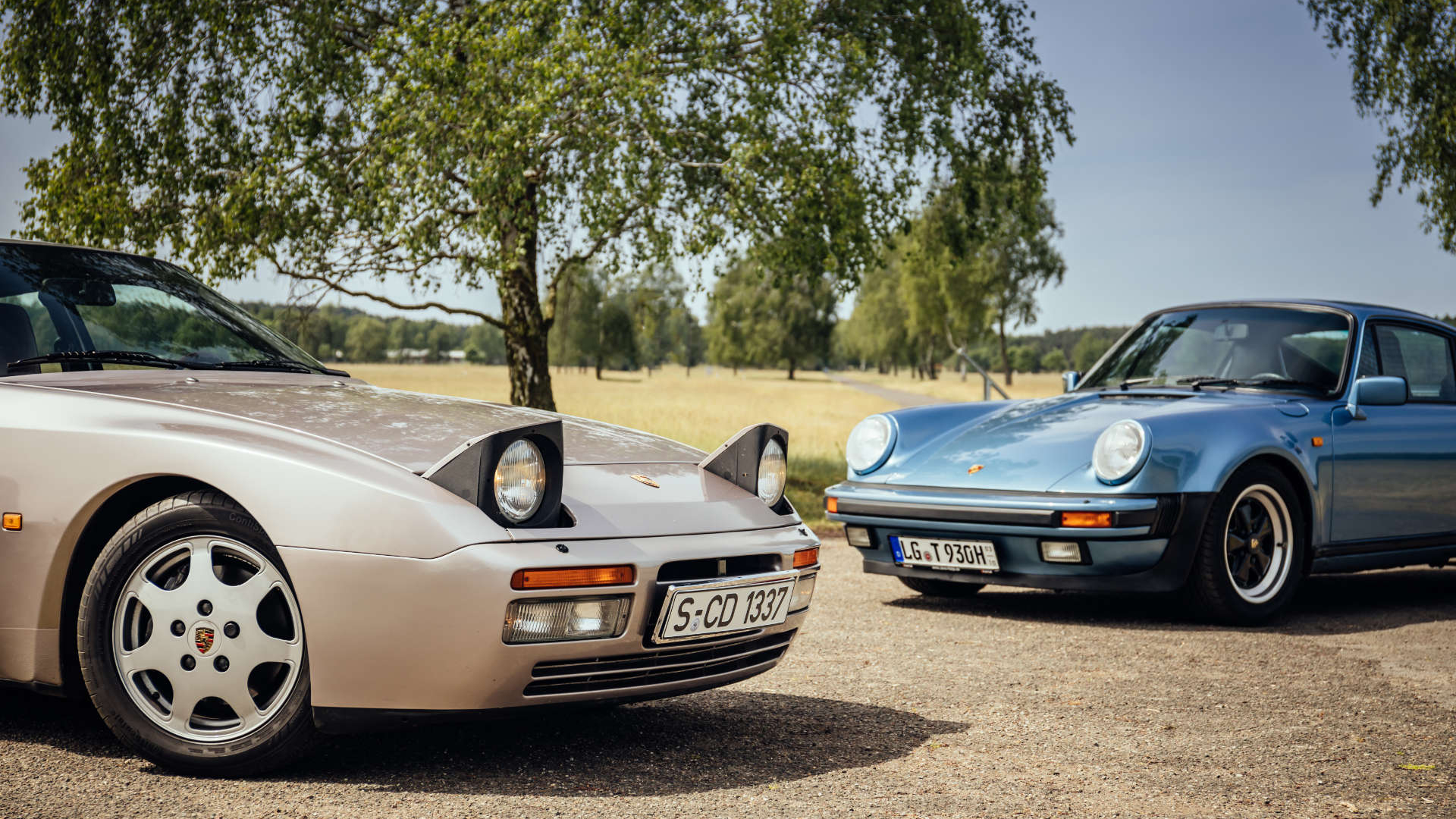 Porsche 911 Turbo 3.3 und Porsche 944 Turbo S