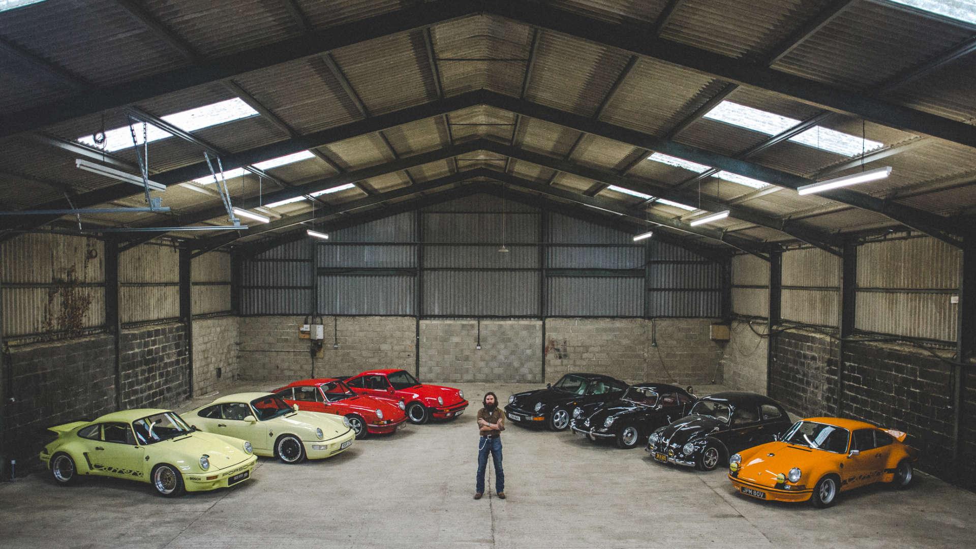 Porsche-Sammlung England