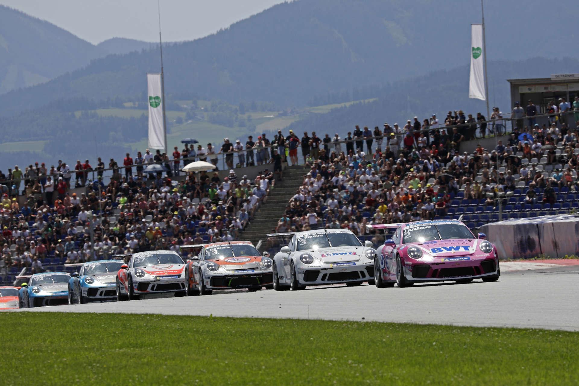 Porsche Carrera Cup Deutschland, Spielberg 2019