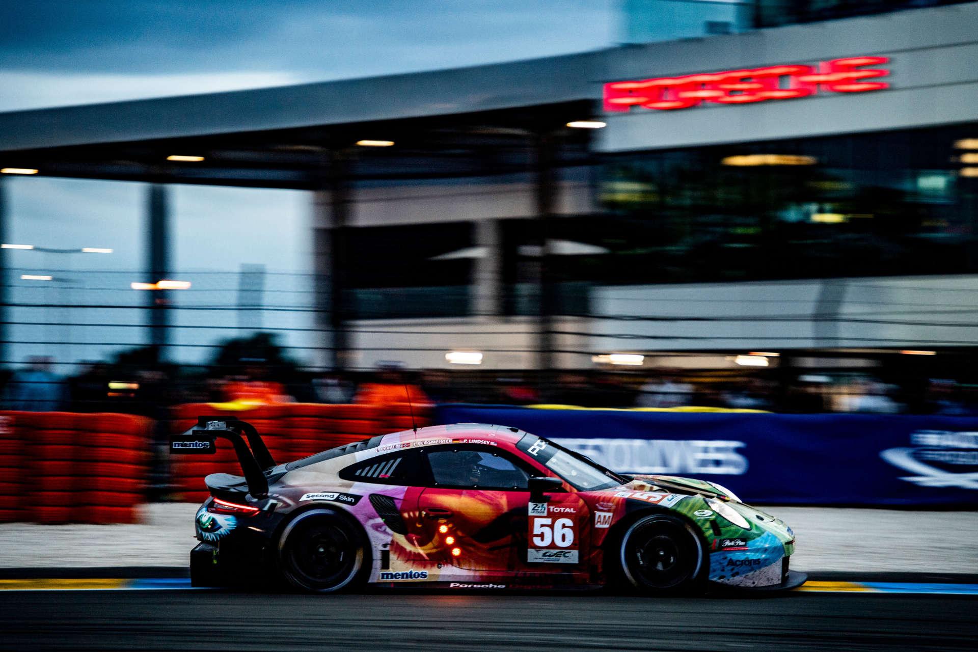 Porsche 911 RSR in Le Mans 2019