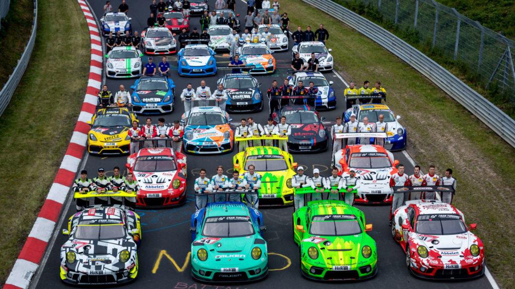Alle Porsche des 24-Stunden-Rennen auf dem Nürburgring 2019