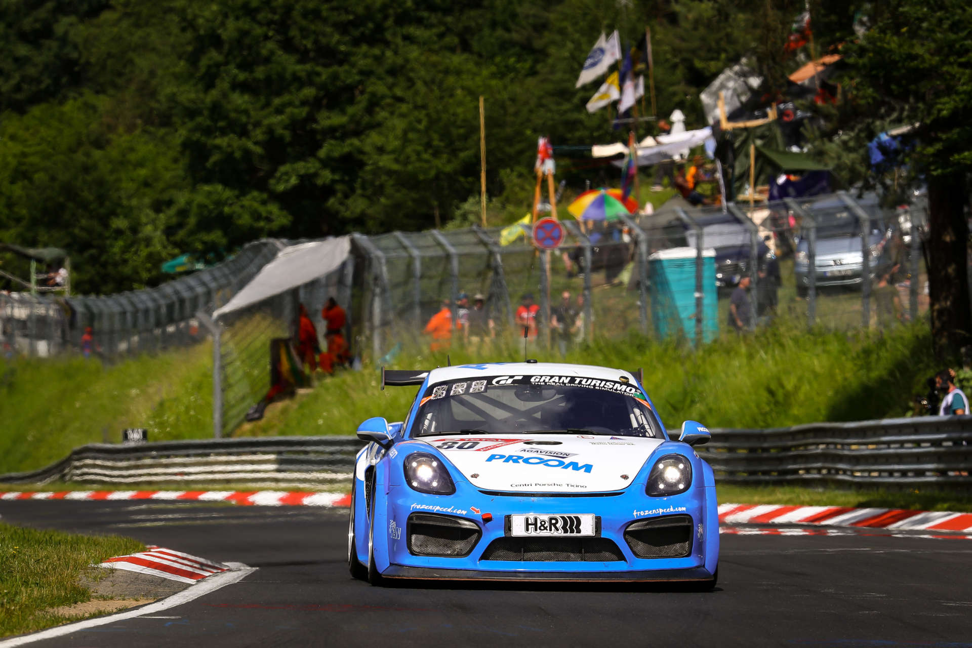 Klasse SP6, Porsche Cayman GT4 Clubsport; Schmickler Performance