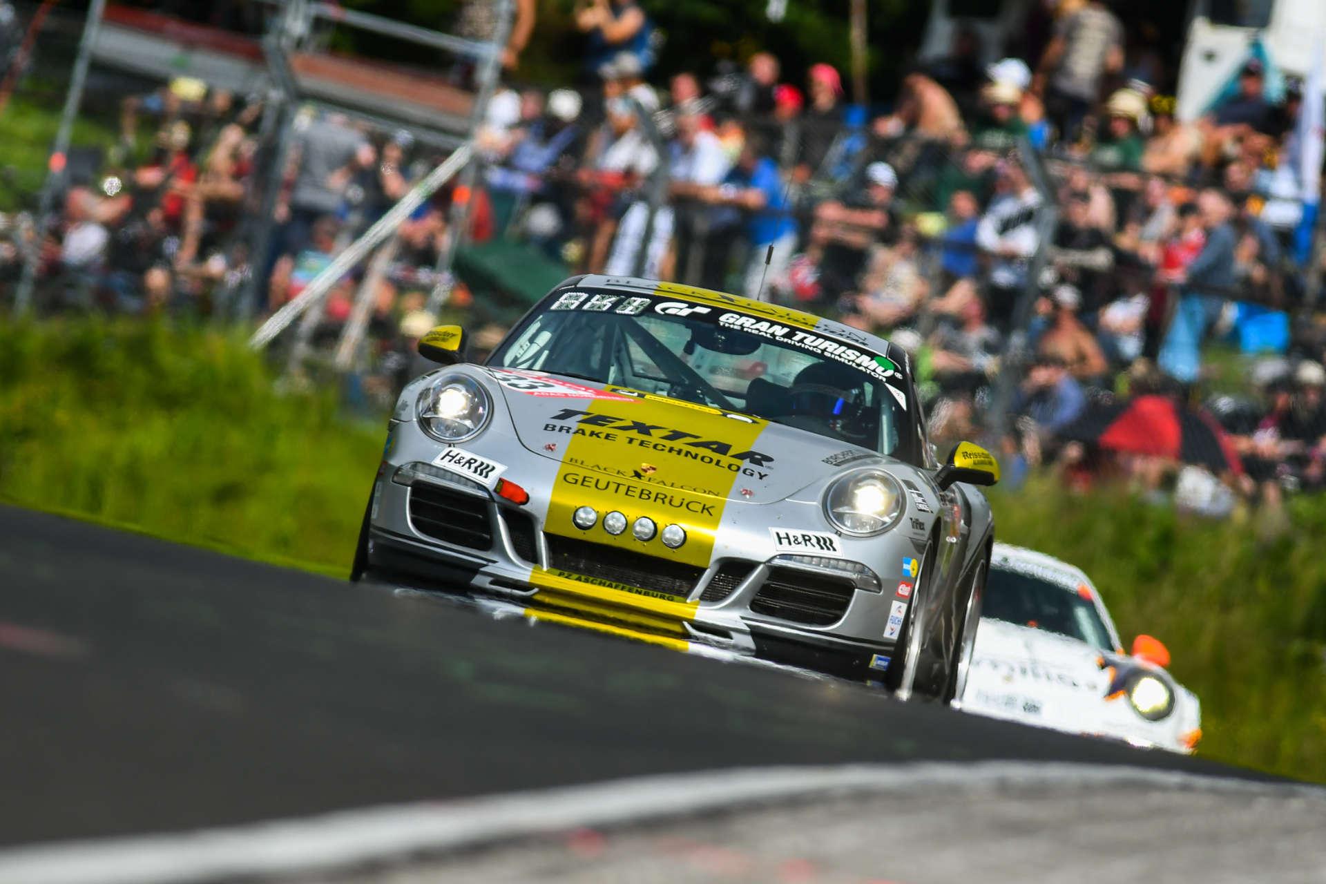 Klasse V6, Porsche 911 Carrera, Black Falcon