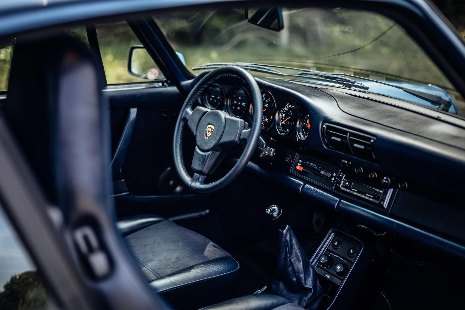 Porsche 911 Turbo 3.3 - Innenraum