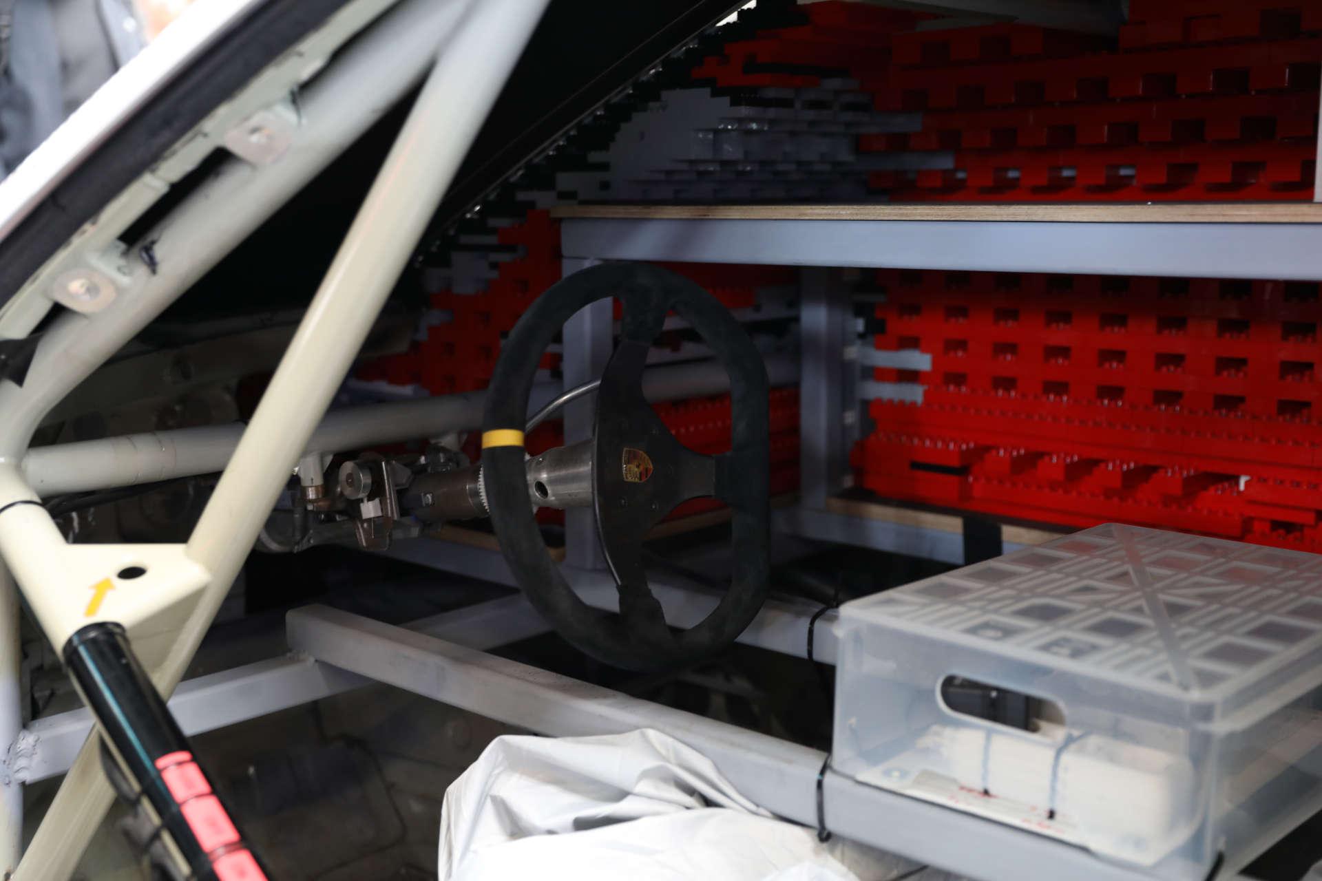 Innenraum Porsche 911 RSR LEGO