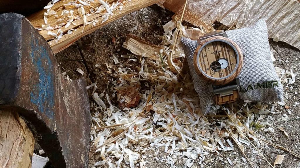 Holzuhren aus Südtirol