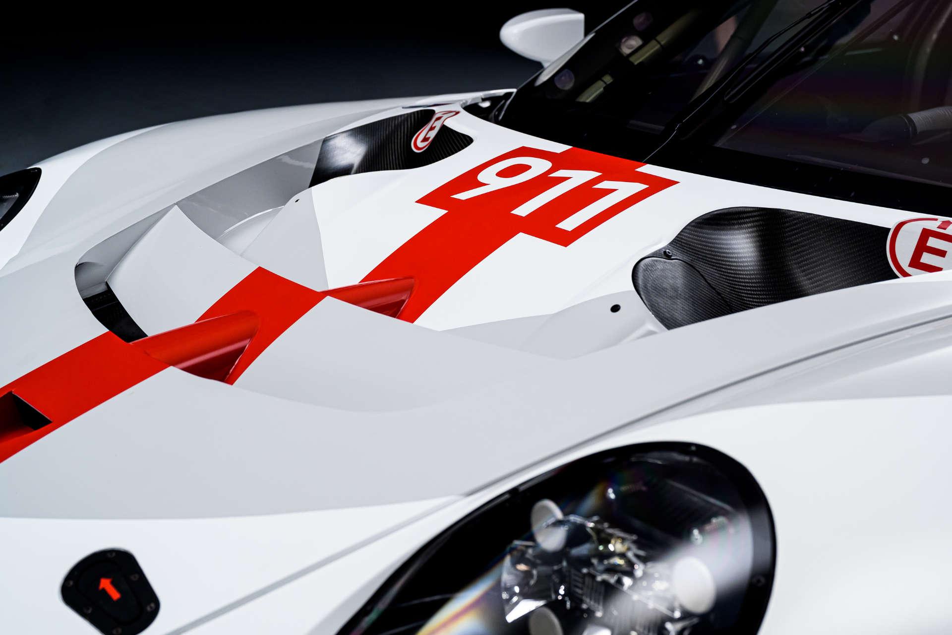 Motorhaube 911 RSR