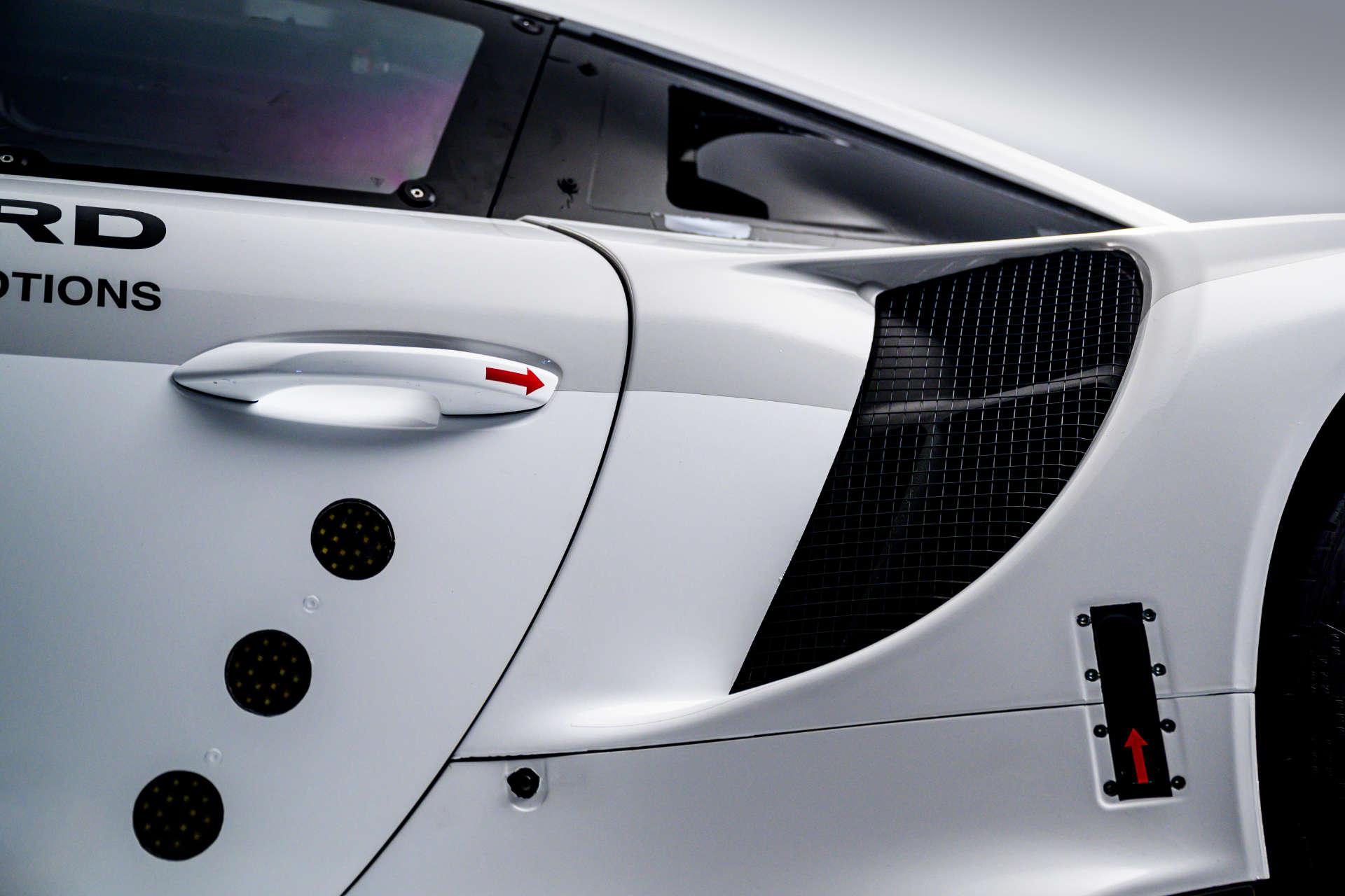 Details Porsche 911 RSR