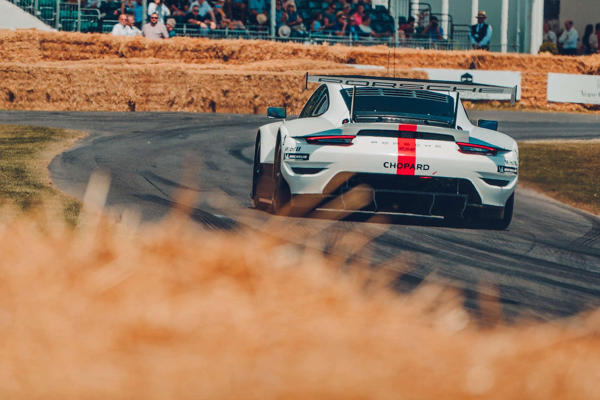 Porsche 911 RSR Goodwood Festival of Speed.