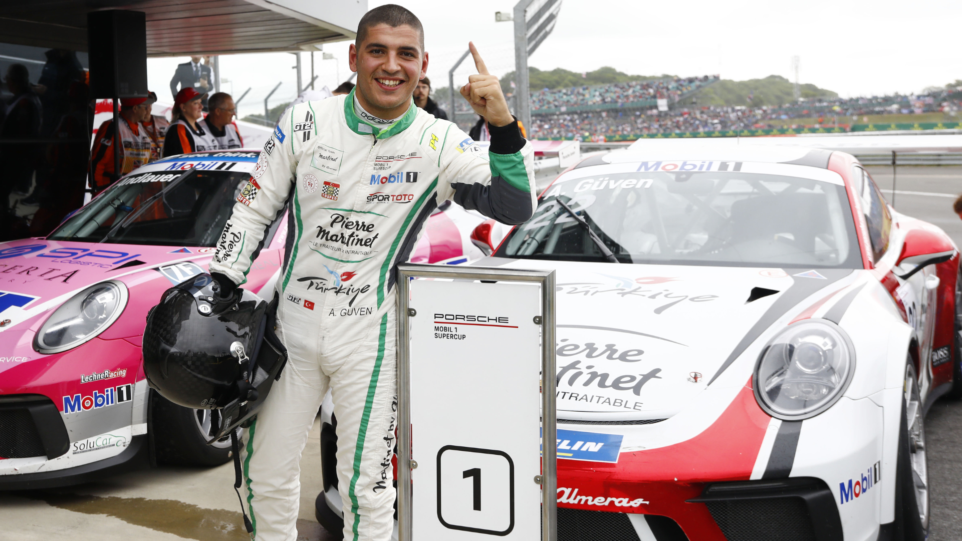 Ayhancan Güven Porsche Supercup Silverstone