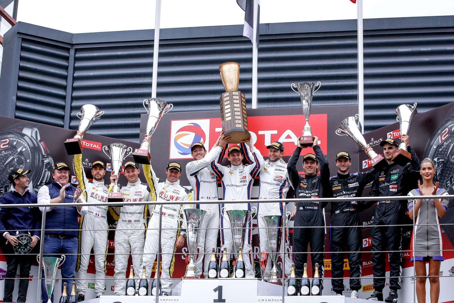 Porsche mit Doppelsieg in Spa 2019