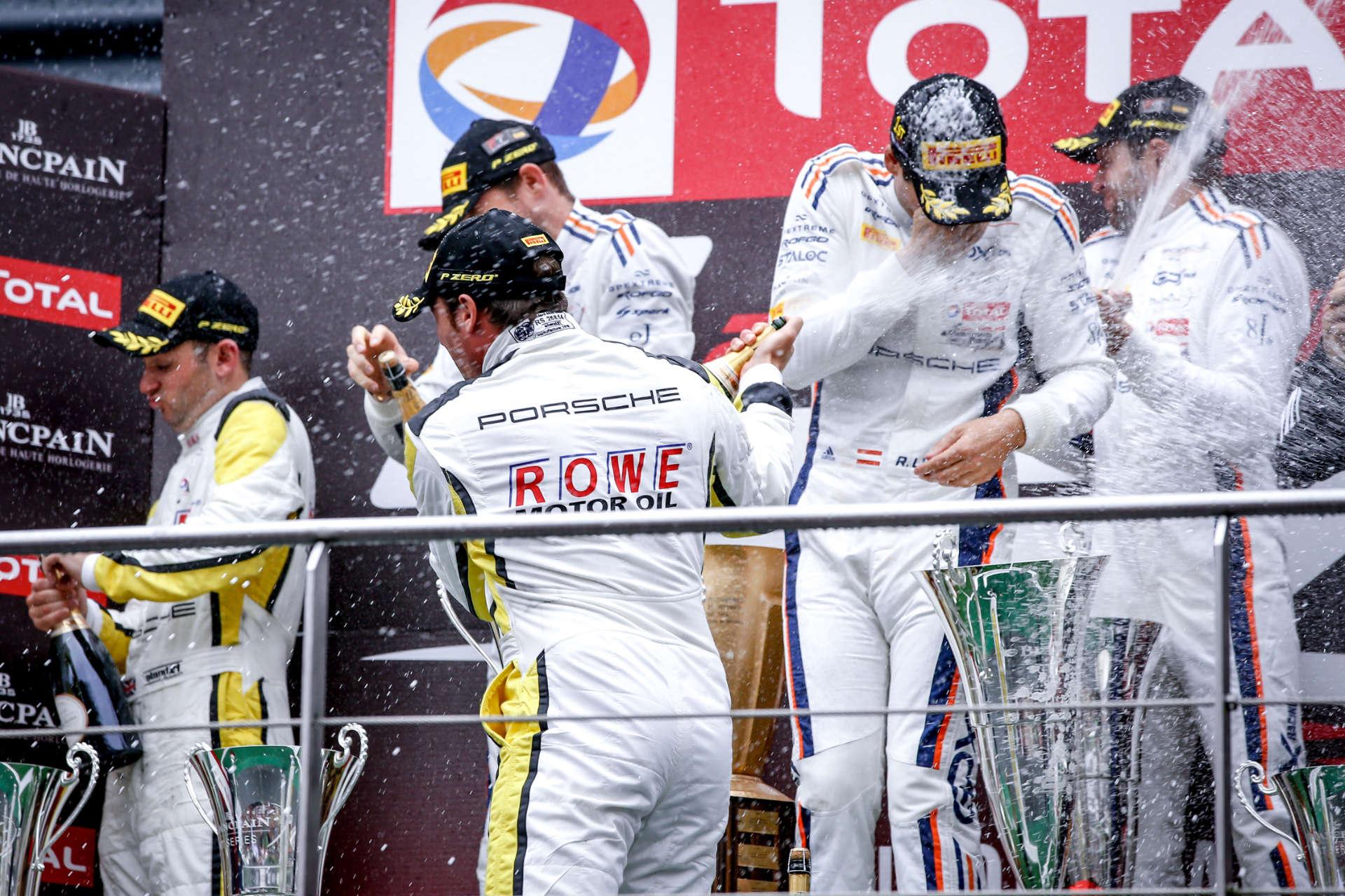 Porsche gewinnt in Spa 2019