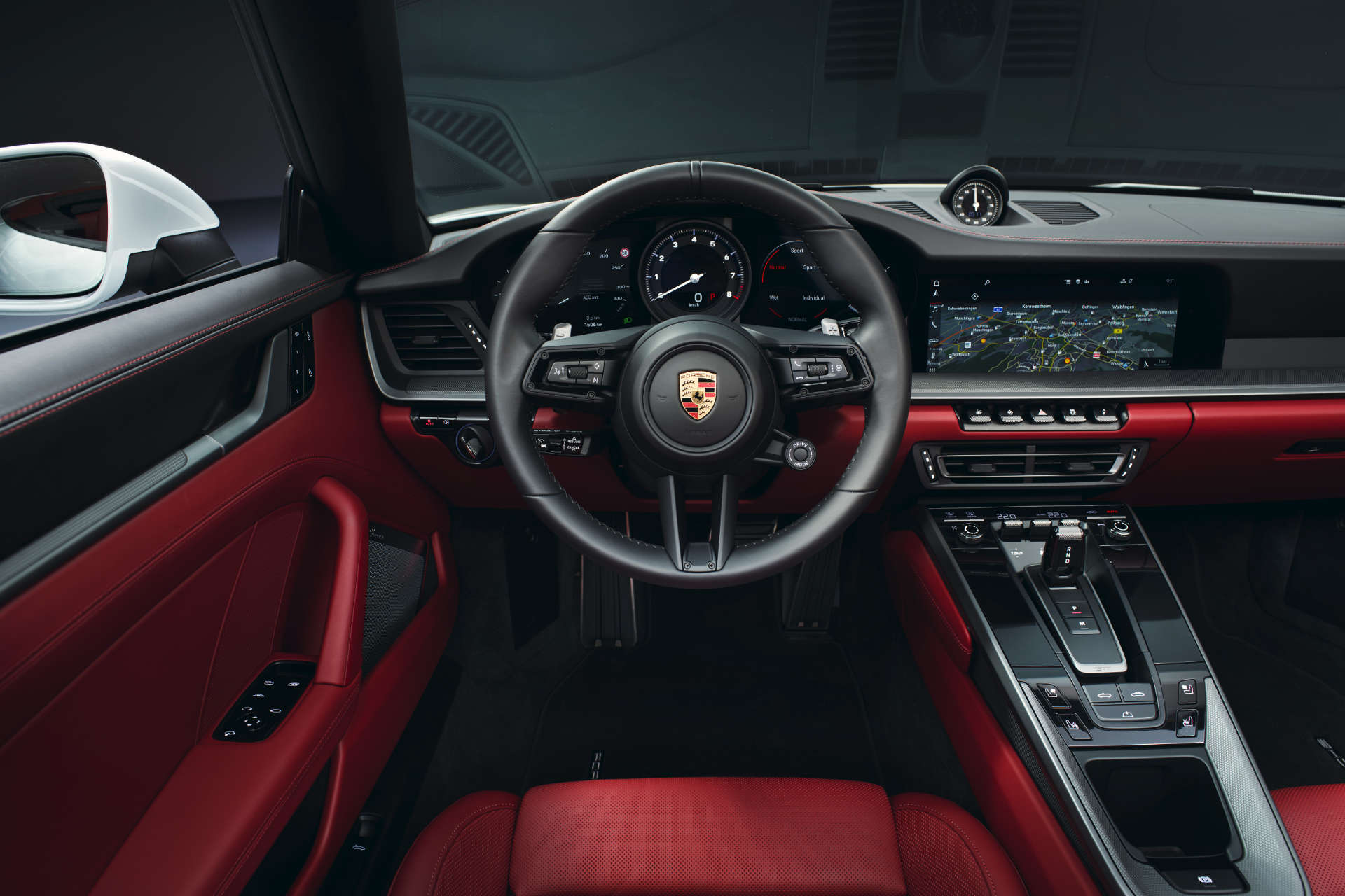 911 Carrera Cabriolet Innenraum