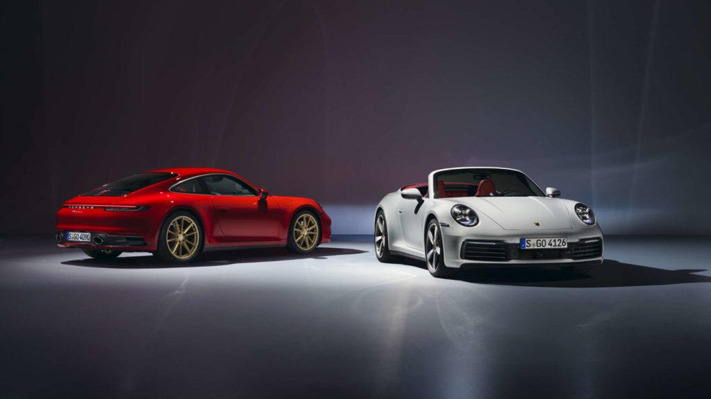 911 Carrera Coupe und Cabriolet