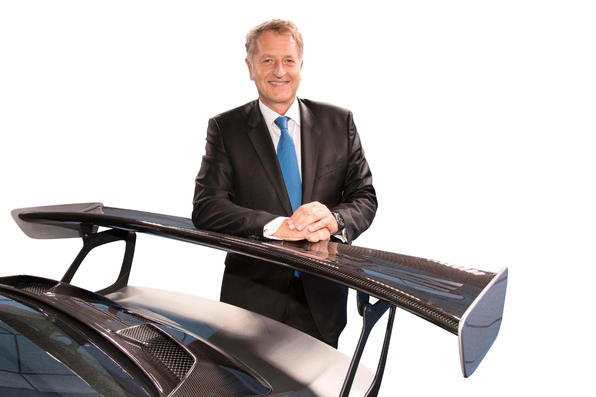 Detlev von Platen, Mitglied des Porsche Vorstandes, Vertrieb und Marketing