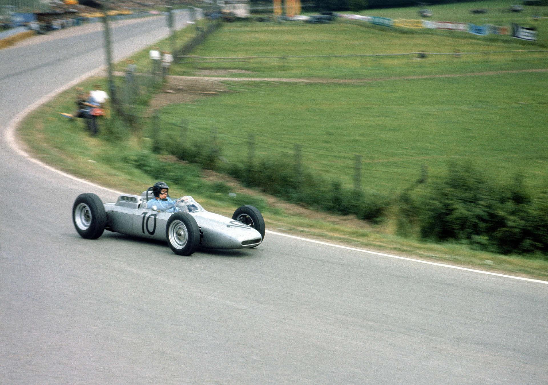 Solitude 1962: Dan Gurney gewinnt mit dem Porsche 804 Formel 1.