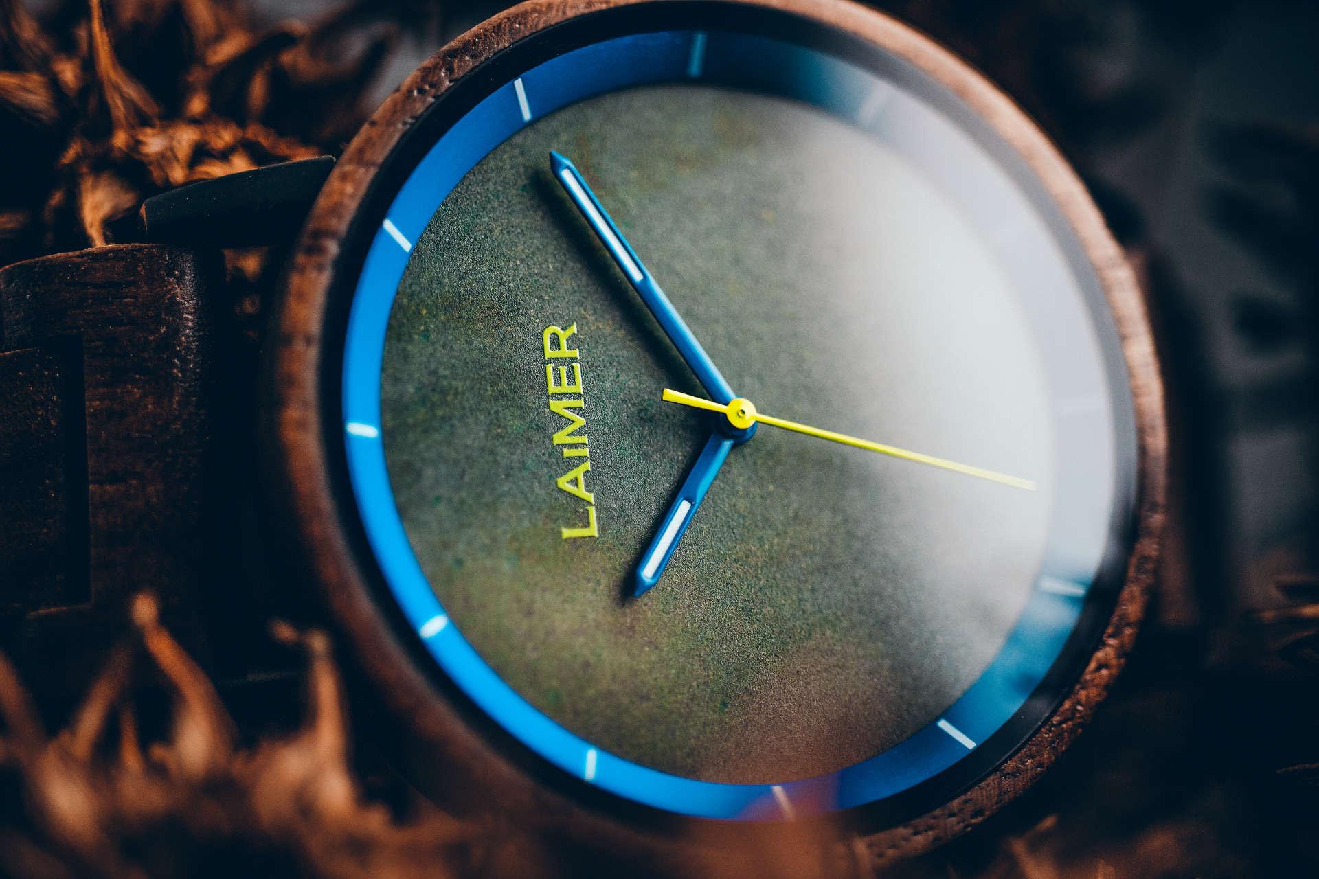 Holz-Armbanduhr Laurenz