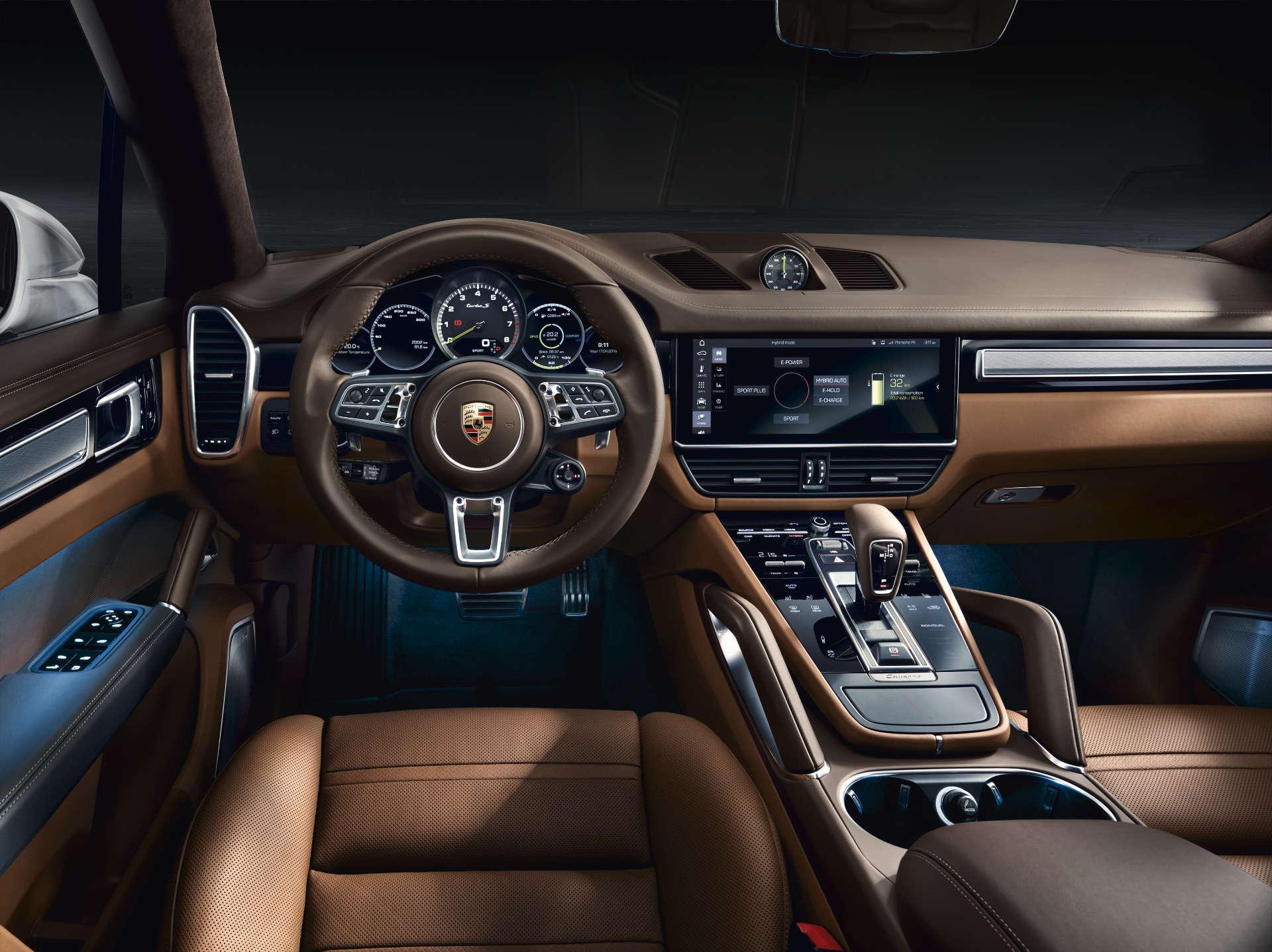Innenraum Porsche Cayenne Turbo