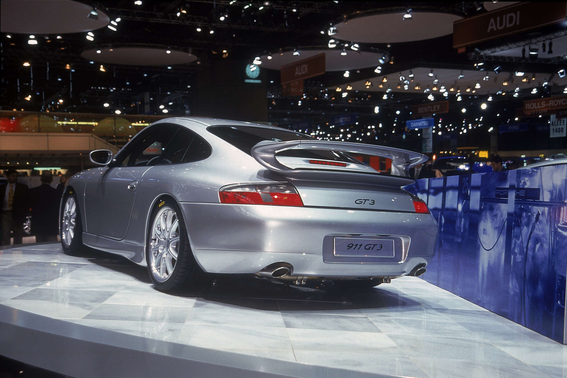 Der erste Porsche 911 GT3