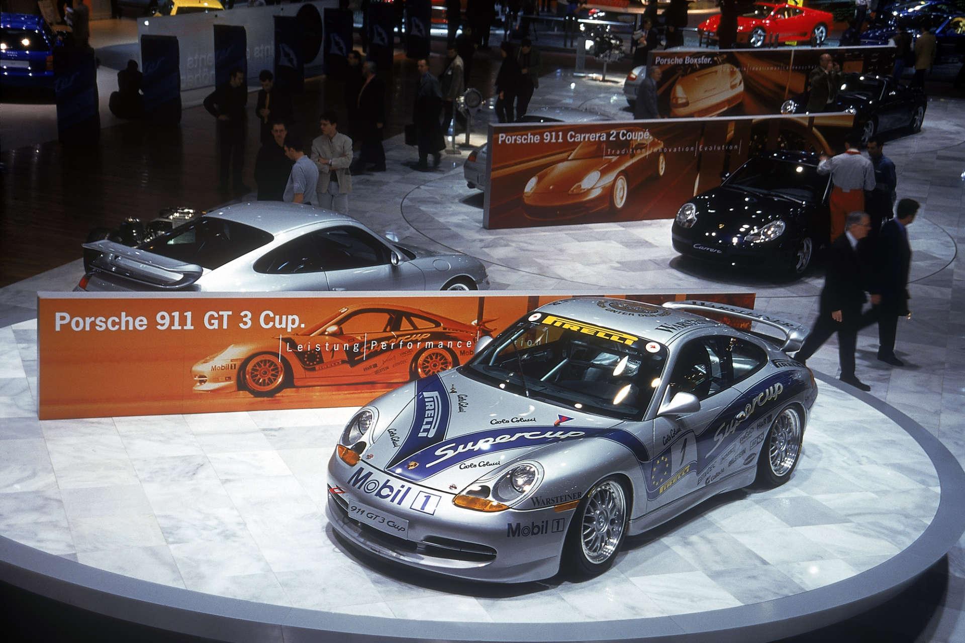 Der erste Porsche 911 GT3 Supercup