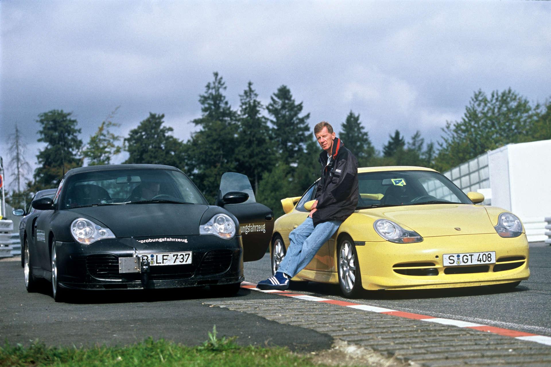 Walter Röhrl, 911 Turbo GT3