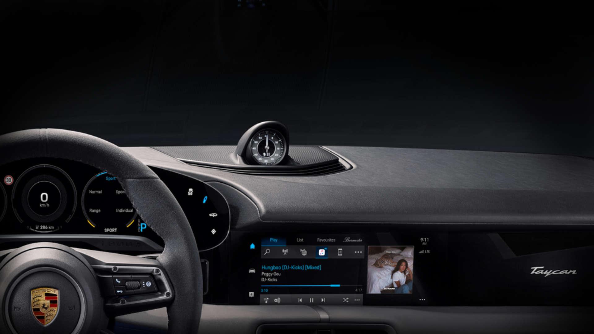 Porsche Apple Music