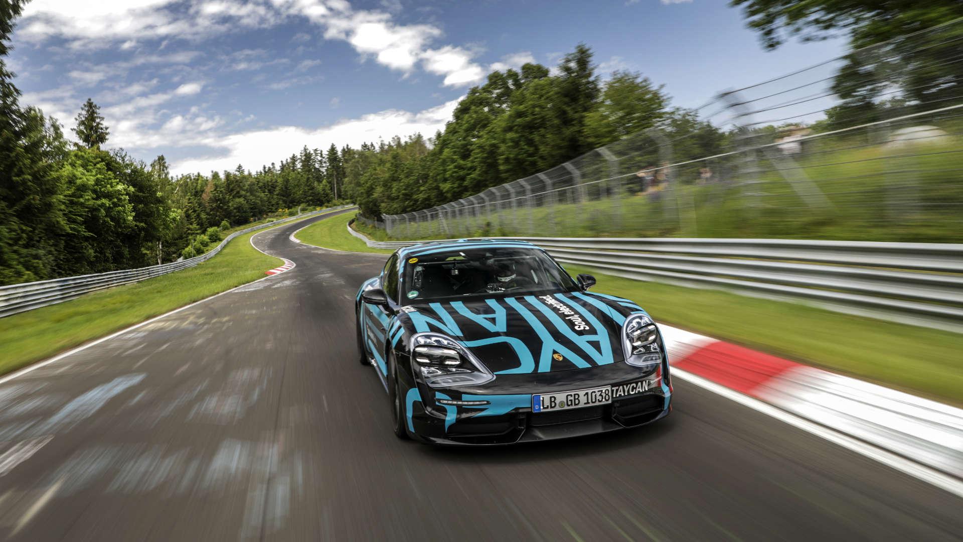 Taycan Nürburgring