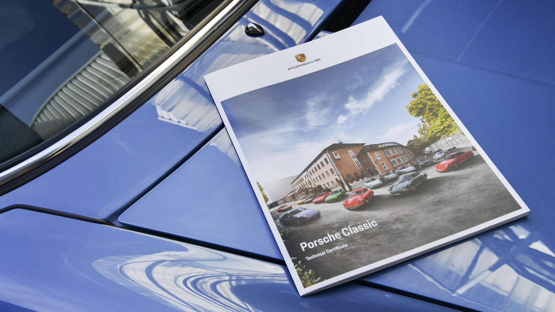 Porsche Classic Technisches Zertifikat