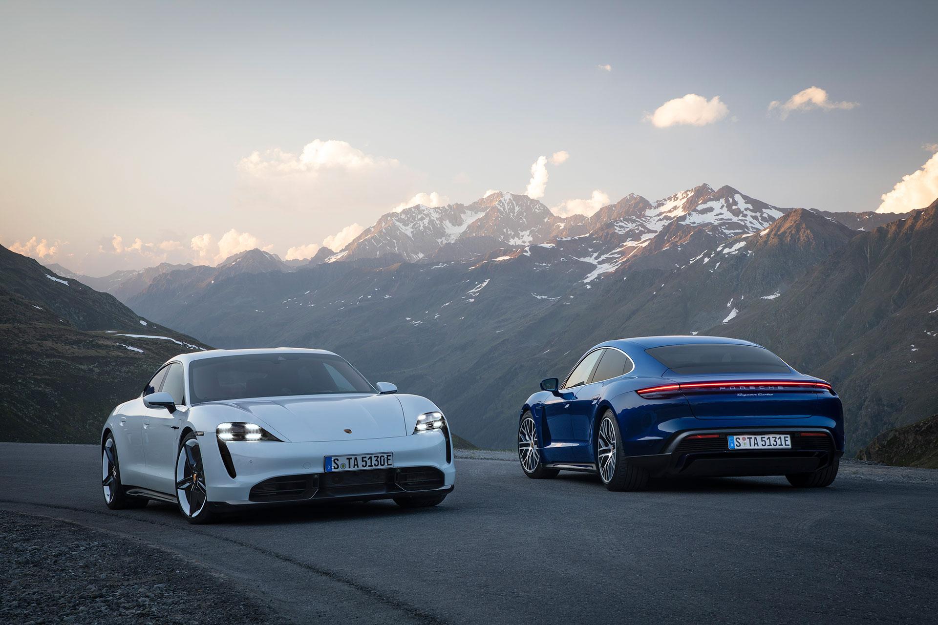 Porsche Taycan Turbo S und Taycan Turbo