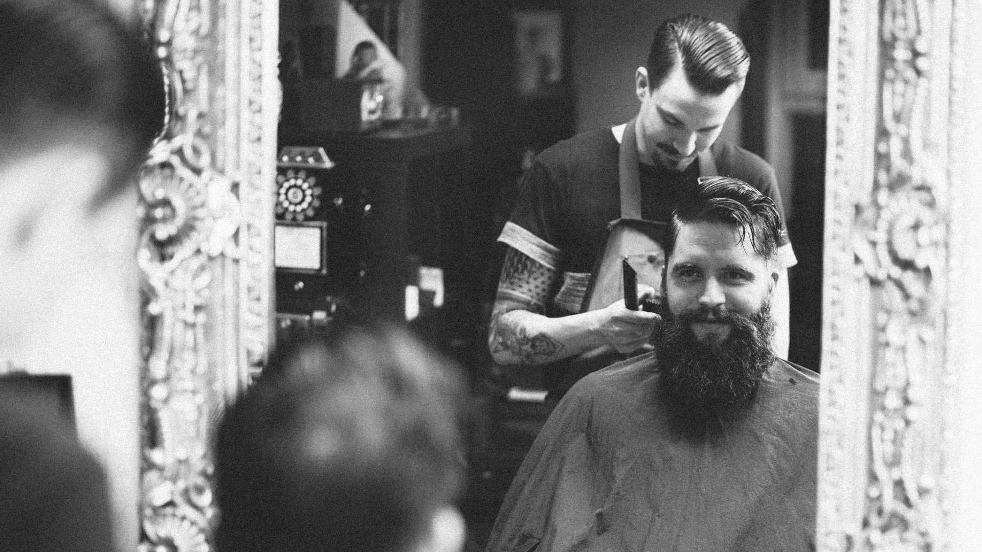 Blackbeards Bartpflege