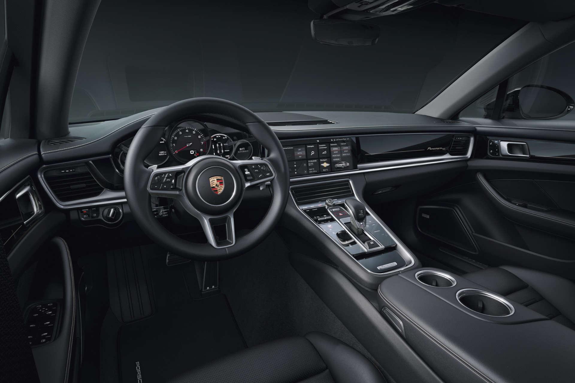 Porsche Panamera Edition 10 Jahre Innenraum