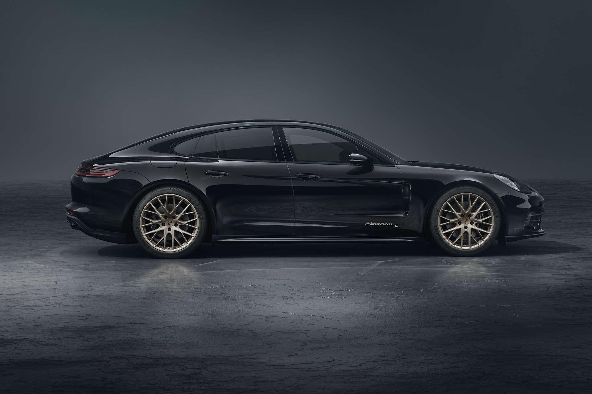 Porsche Panamera Edition 10 Jahre Seitenansicht