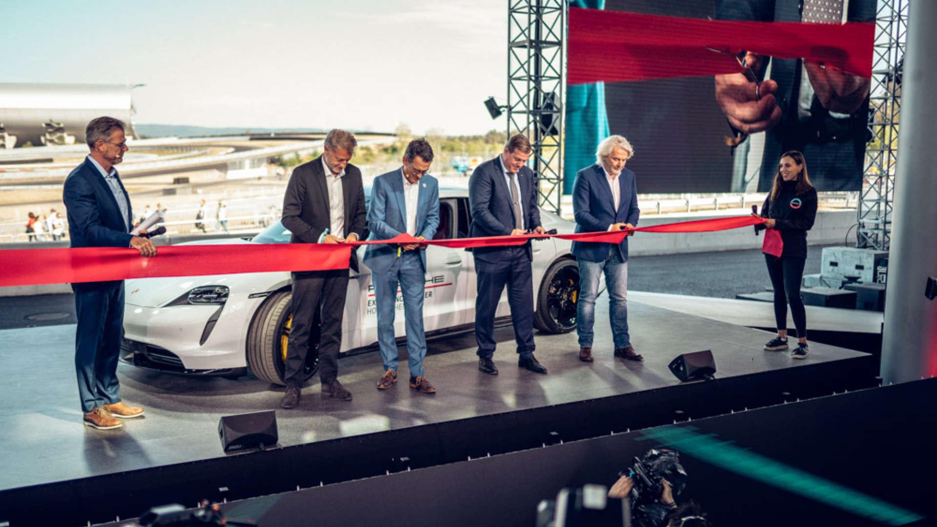 Porsche Experience Center Eröffnung