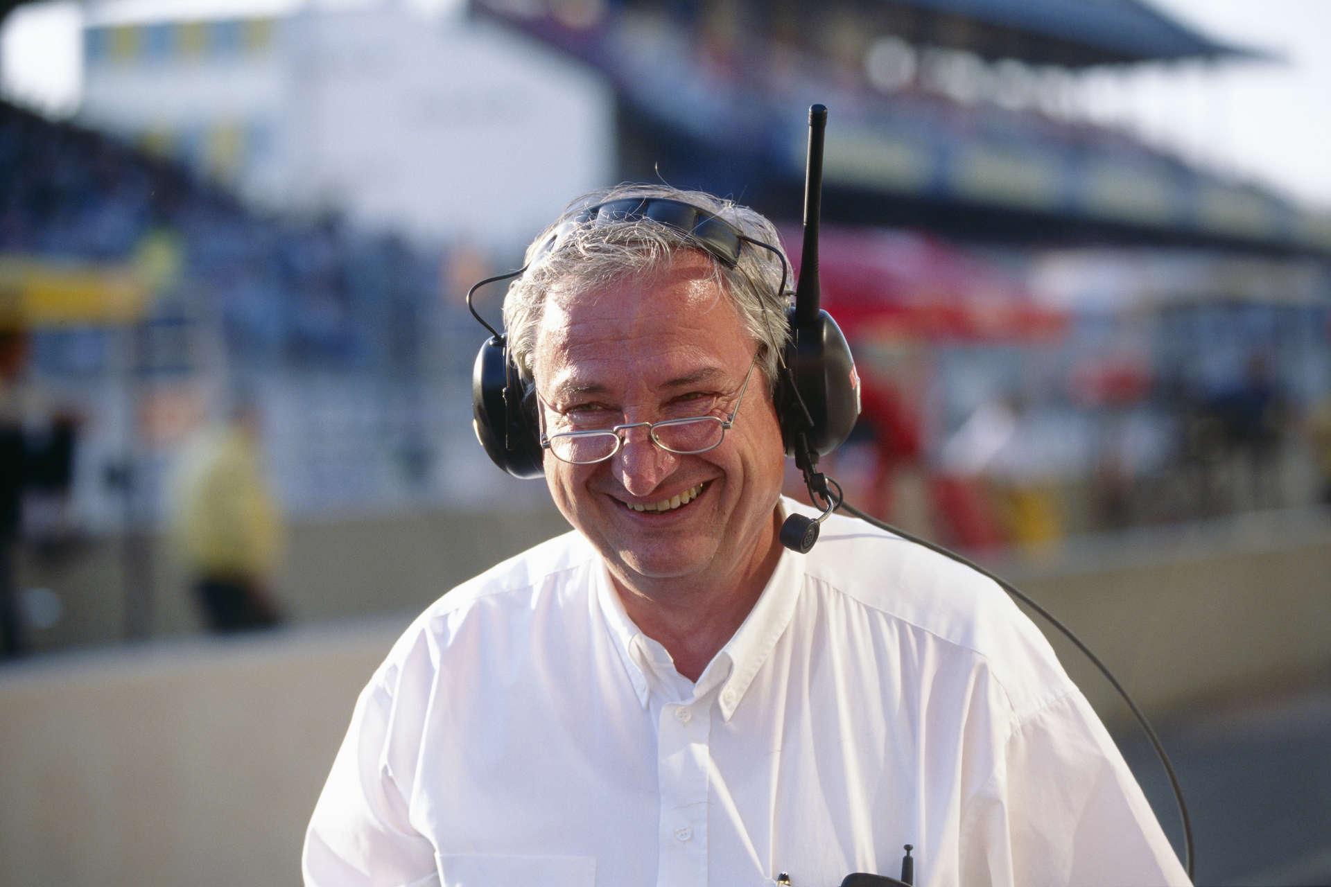 Norbert Singer bei den 24-Stunden von Le Mans, 1996.