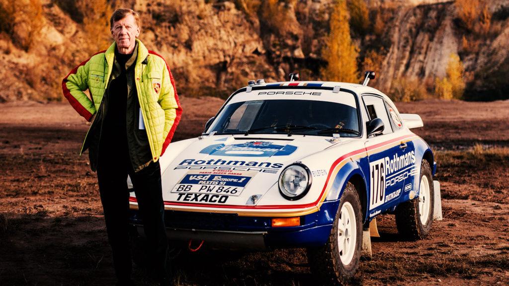 Walter Röhrl Rallye Porsche