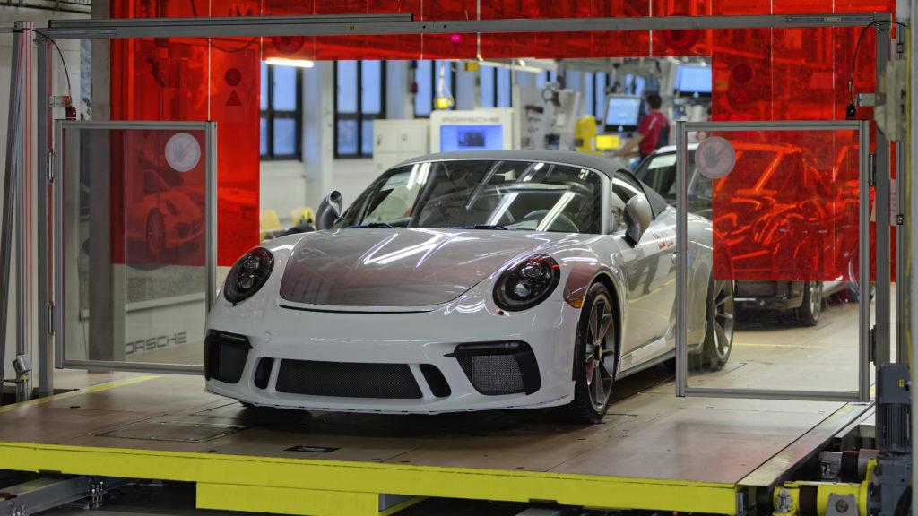 Letzter Porsche 991