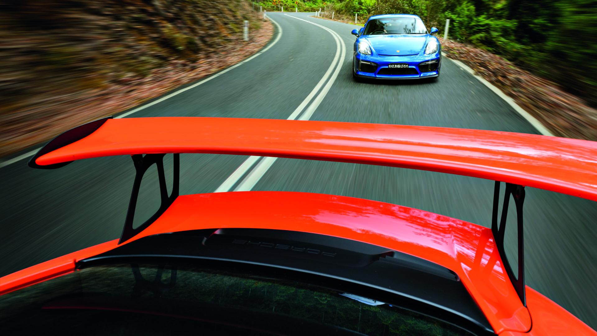 991 GT3RS und Cayman GT4