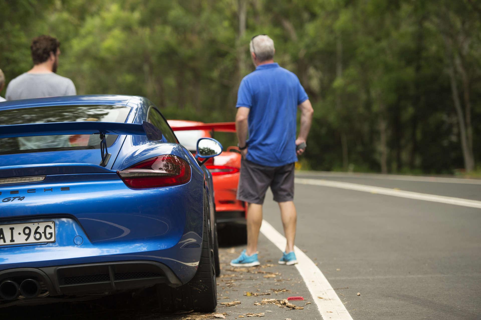 911 GT3RS und Cayman GT4
