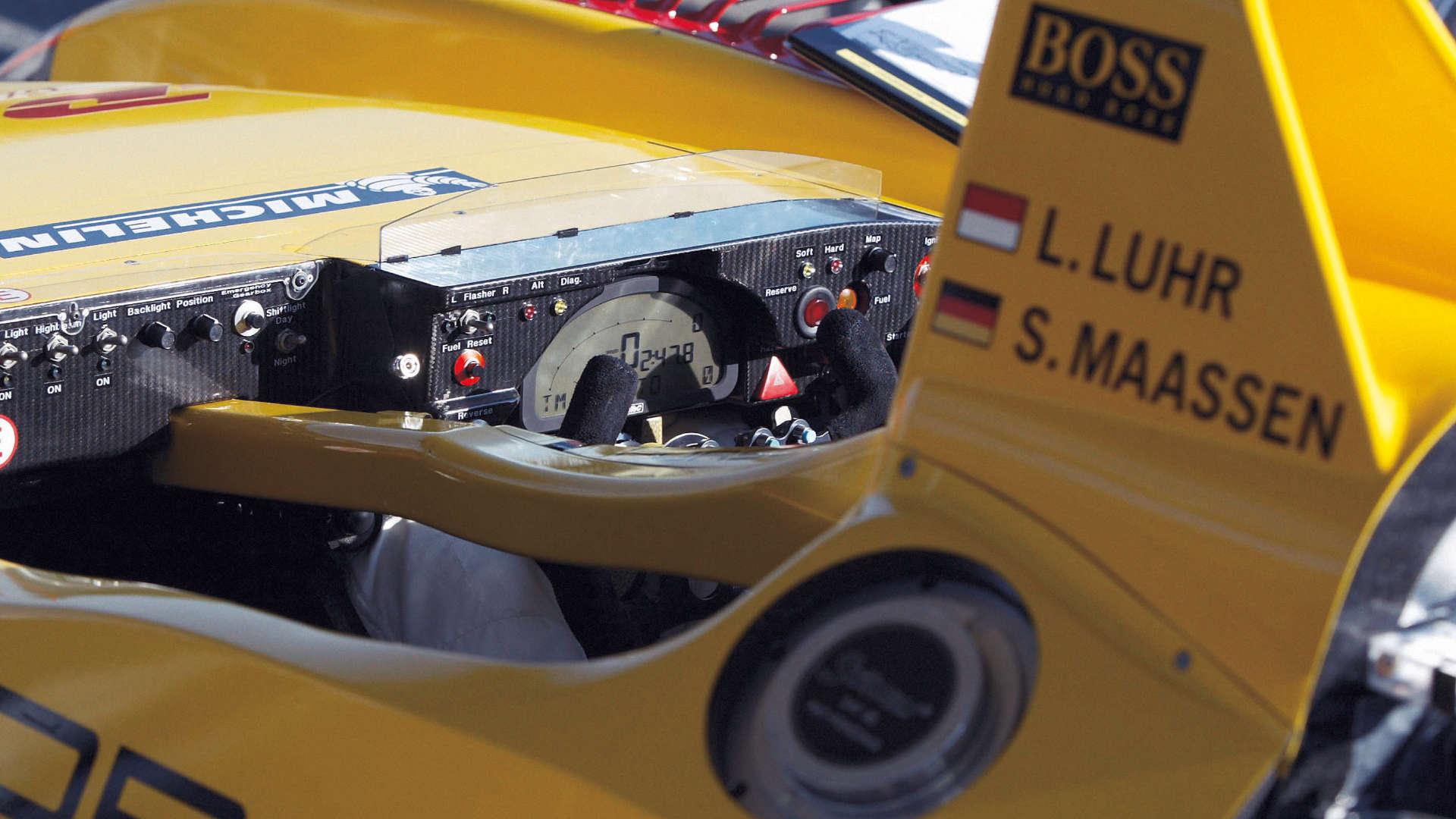 Lenkrad Porsche RS Spyder