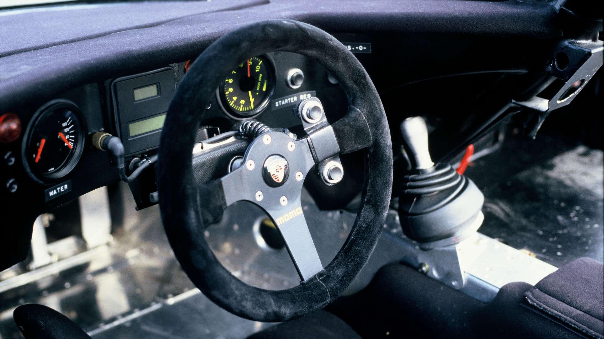 Porsche 962 Lenkrad