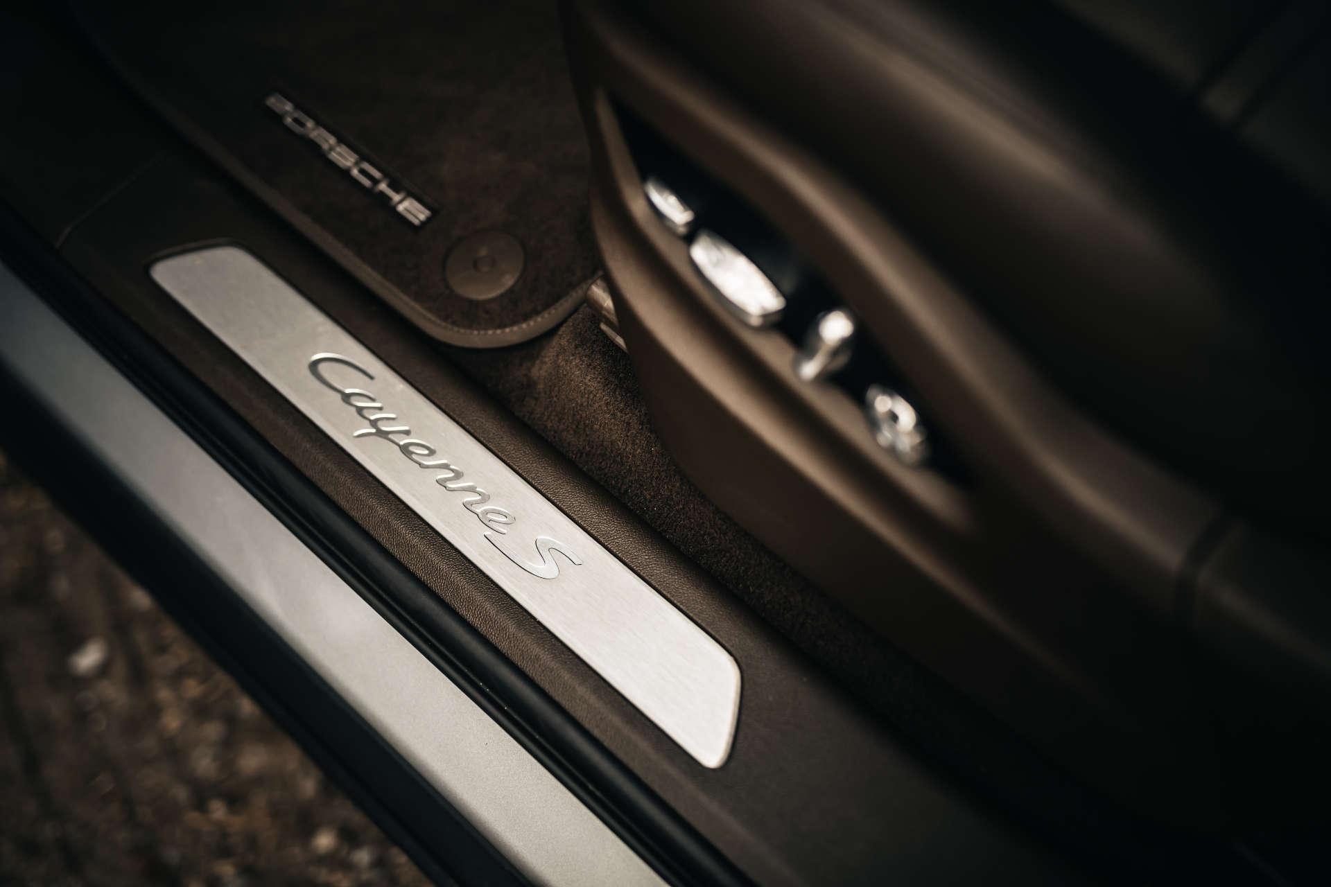 Cayenne S Coupe Einstieg