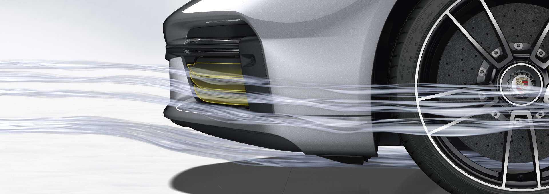 Porsche 911 Turbo Aerodynamik