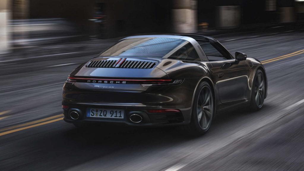 Der neue 911 Targa