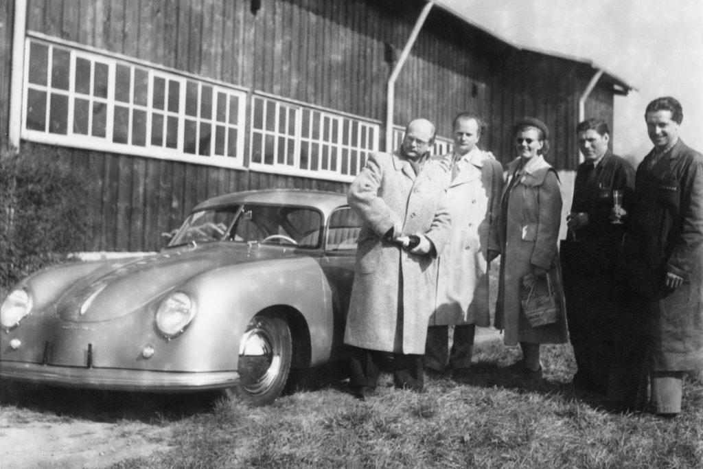 Porsche Werksauslieferung 1950