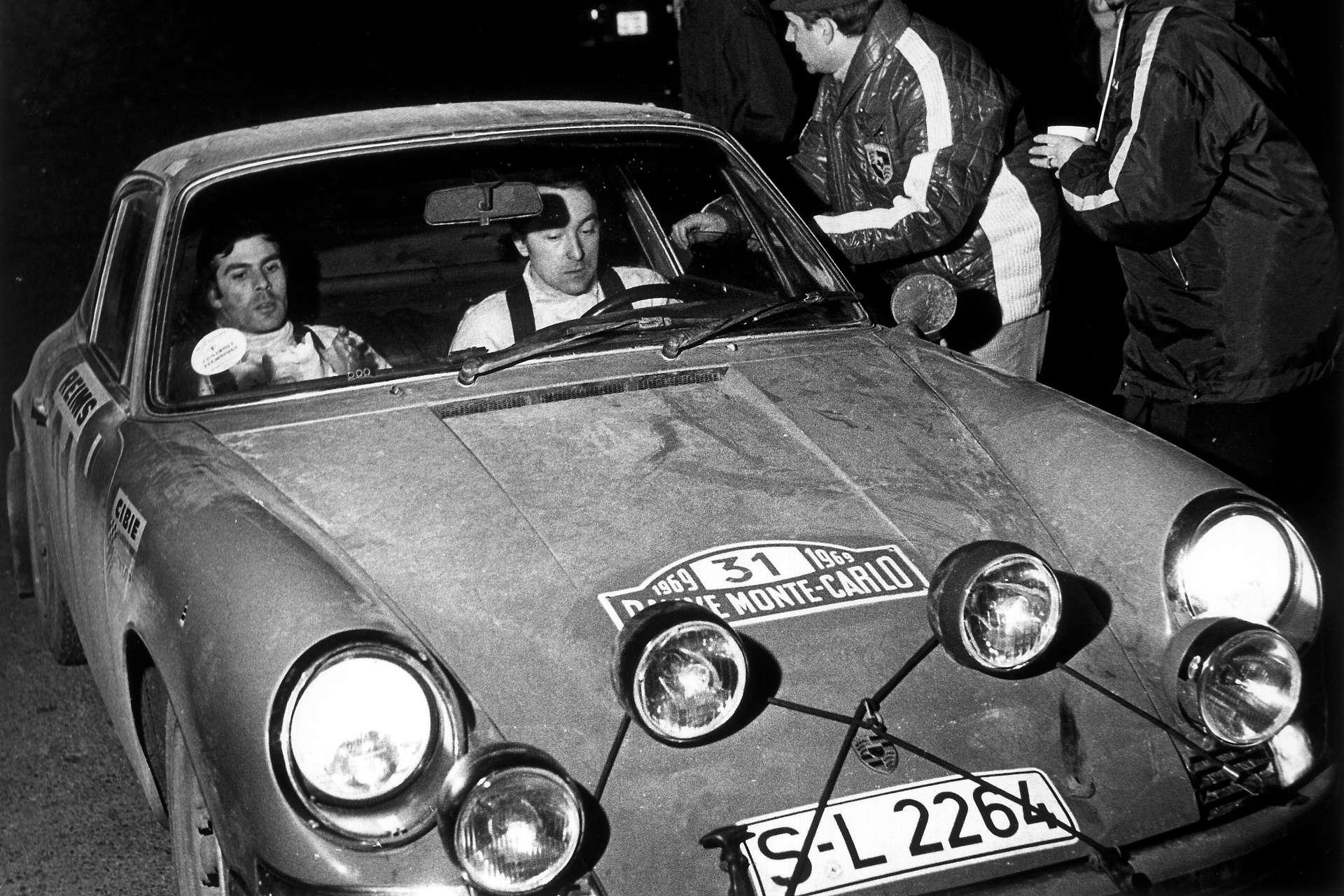 Rallye Monte Carlo 1969 Porsche