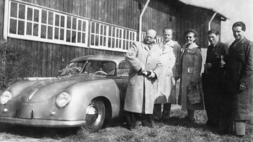 Porsche Werksabholung