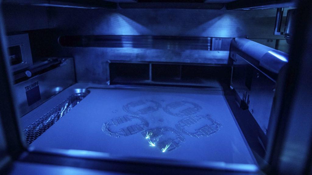 Porsche Kolben 3D-Drucker