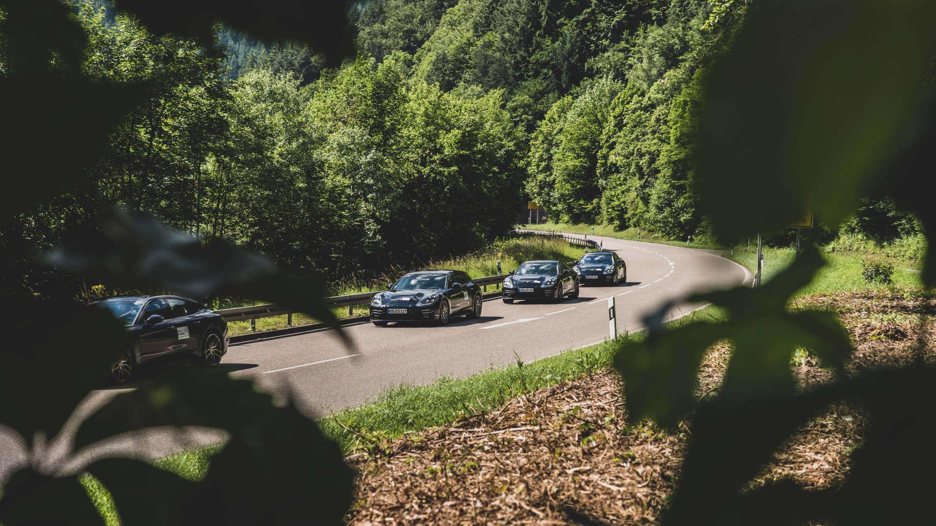 Erprobungsfahrten Porsche